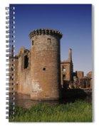 Caerlaverock Castle, Dumfries, Scotland Spiral Notebook