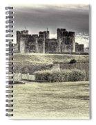 Caerphilly Castle Cream Spiral Notebook