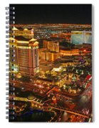 Caesars Palace On The Strip Spiral Notebook
