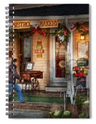 Cafe - Clinton Nj - Bistro Bakery  Spiral Notebook