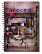Cafe - Clinton Nj - The Luncheonette  Spiral Notebook