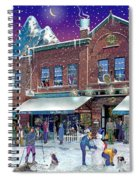 Cafe Monte Alto Spiral Notebook