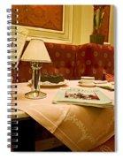 Cafe Sacher - Vienna Spiral Notebook