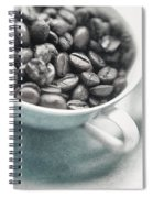 Caffeine Spiral Notebook