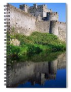 Cahir Castle, River Suir, County Spiral Notebook