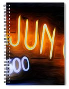 Cajun Casino - Bourbon Street Spiral Notebook