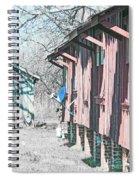 Cajun Country Satellite Dish Spiral Notebook