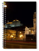Calahorra Cathedral At Night Spiral Notebook