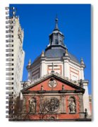 Calatravas Church Architectural Details Spiral Notebook