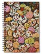 Calaveras Azucar Y Pan Dulce Spiral Notebook