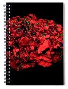 Calcite In Uv Light Spiral Notebook