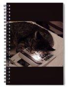 Calculator And Nightlite Spiral Notebook