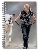Calf Competition Spiral Notebook