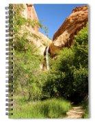 Calf Creek Falls Canyon Spiral Notebook