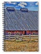 Calgary Barn Hdr Spiral Notebook