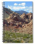 Calico Basin View Spiral Notebook