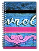 California Chevy Chic Spiral Notebook