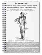 California Gold Rush, 1855 Spiral Notebook