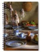 California Mission La Purisima 3 Spiral Notebook