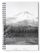 California: Mount Shasta Spiral Notebook