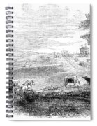 California: Vallejo, 1852 Spiral Notebook