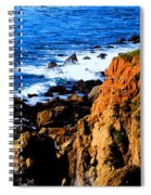 California Waterfront Spiral Notebook