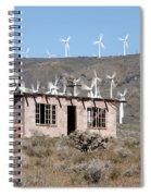 California Wind Spiral Notebook