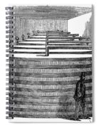 California: Winery, 1864 Spiral Notebook