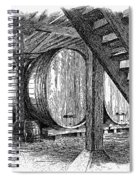 California: Winery, C1890 Spiral Notebook