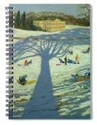 Calke Abbey House Spiral Notebook