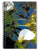 Calla Lily 7 Spiral Notebook