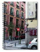 Calle De Vergara Madrid Spiral Notebook