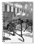 Calliope, 1859 Spiral Notebook