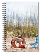 Calm By The Sea Spiral Notebook