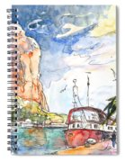 Calpe Harbour 04 Spiral Notebook