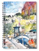 Calpe Harbour 05 Spiral Notebook