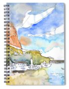 Calpe Harbour 06 Spiral Notebook