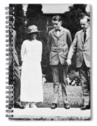 Calvin Coolidge & Family Spiral Notebook
