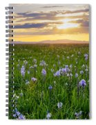 Camas Fields Spiral Notebook