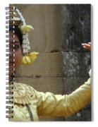 Cambodian Dancer Spiral Notebook