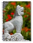 Cambodian Lion Spiral Notebook