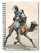 Camel & Rider Spiral Notebook