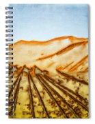 Camel Shadows Spiral Notebook