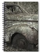 Camouflage Classic Car Spiral Notebook