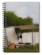 Camp At Goliad Spiral Notebook