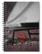 Camp Fire  Spiral Notebook