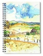 Campo Maior In Portugal 01 Spiral Notebook