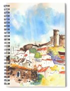 Campo Maior In Portugal 02 Spiral Notebook