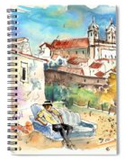 Campo Maior In Portugal 03 Spiral Notebook