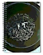 Can Of Butts Spiral Notebook